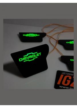 "Chevrolet Lacetti sedan c логотипом ""Chevrolet"""
