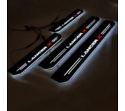 Накладки на пороги c LED подсветкой
