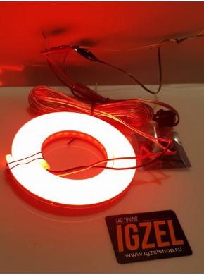 Дополнительный свет для габарит и тормоз, неоновый шнур на спойлер
